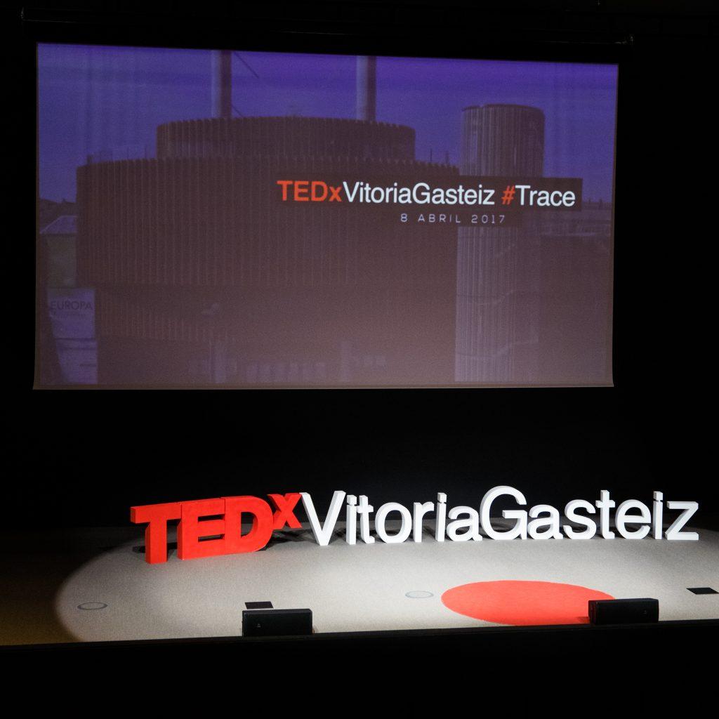 TEDxVitoriaGasteiz 2017 stage