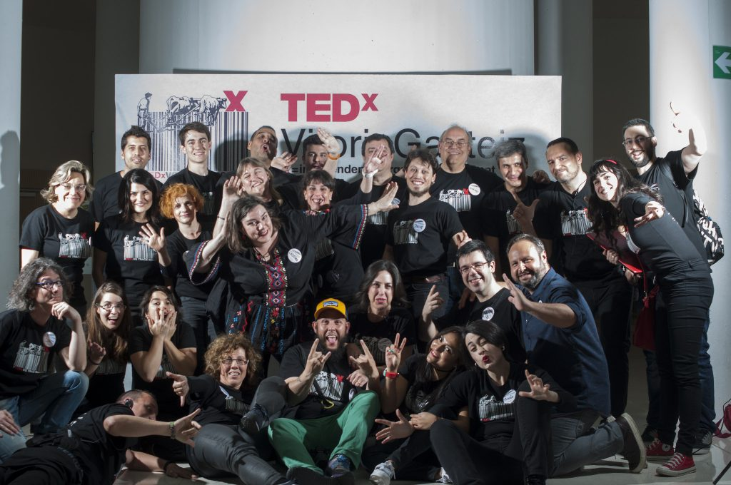 TEDxVitoriaGasteiz 2017: foto de familia