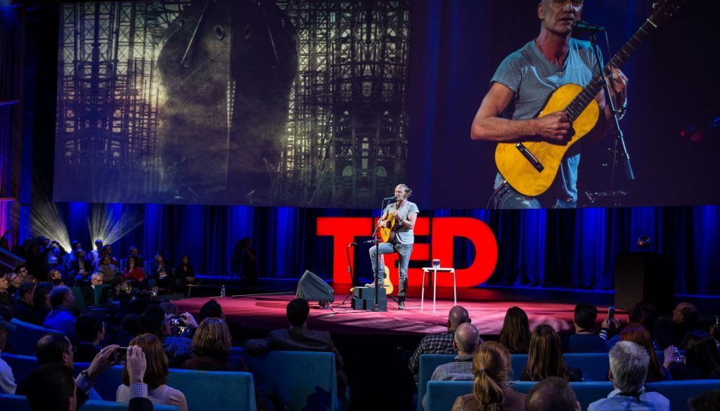 Sting at TED2014